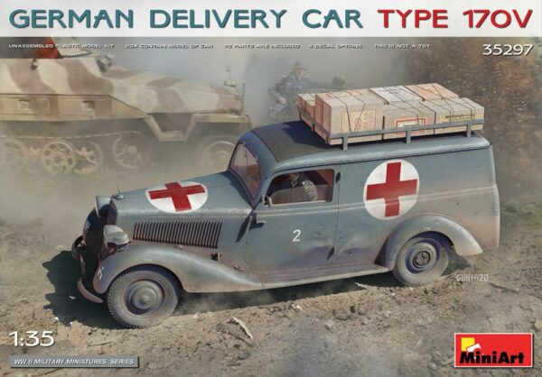 German Delivery Car Type 170V