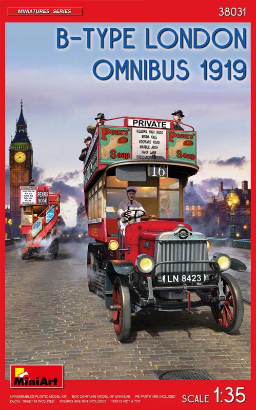 B-Type London Omnibus (1919)