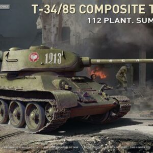 T-34-85 Composite Turret - 112 Plant. - Summer 1944