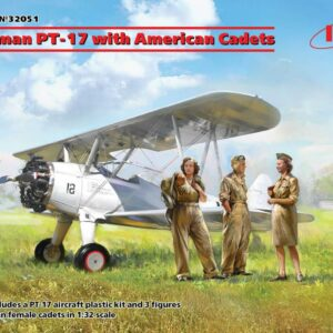 Stearman PT-17 with American Cadets