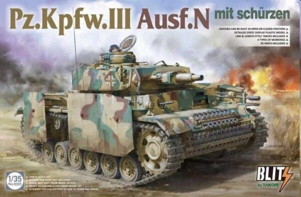 Pz.Kpfw.III Ausf.N mit Schürzen