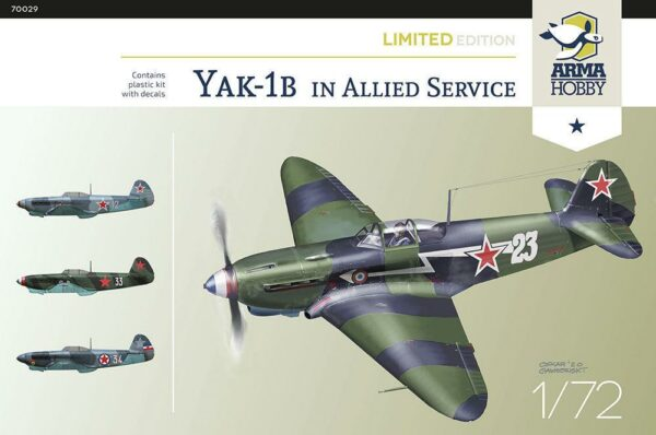 Yak-1b Allied Fighter - Limited Edition
