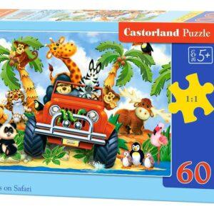 Softies on Safari - Puzzle -60 Teile