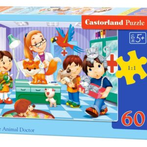At the Animal Doctor - Puzzle - 60 Teile