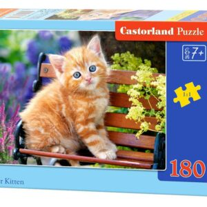 Ginger Kitten - Puzzle - 180 Teile