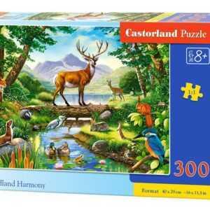Woodland Harmony - Puzzle - 300 Teile