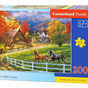 Horse Valley Farm - Puzzle - 200 Teile