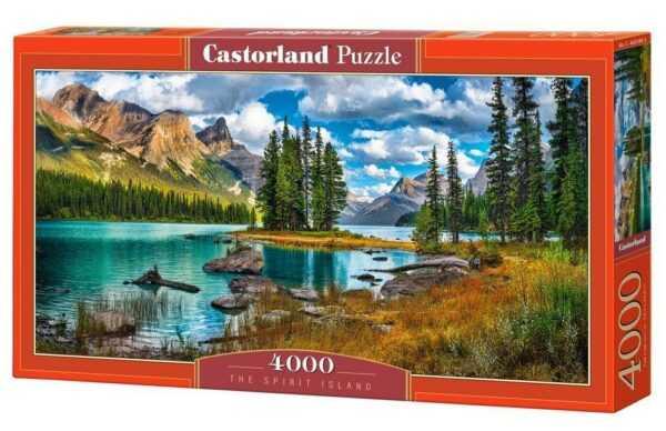 The Spirit Island - Puzzle - 4000 Teile