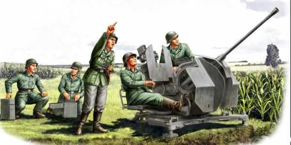 20mm Flak 38 - Figure Set