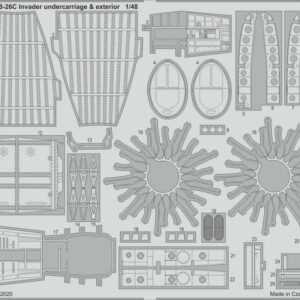 B-26C Invader - Undercarriage & exterior [ICM]