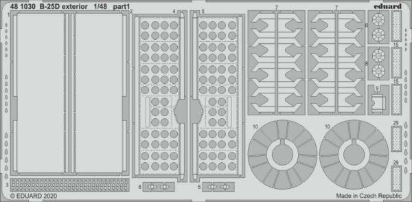 B-25D Mitchell - Exterior [Revell]