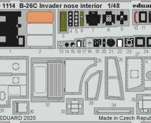B-26C Invader - Nose interior [Hasegawa]
