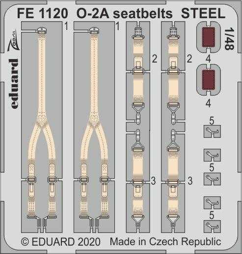 O-2A Skymaster - Seatbelts STEEL [ICM]