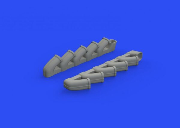 Il-2 - Exhaust stacks [Tamiya]