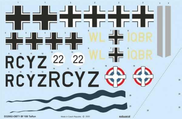 Messerschmitt Bf 108 Taifun [Eduard]