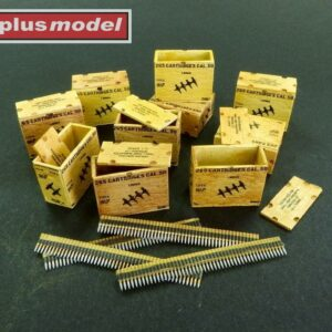 US ammunition boxes for ammunition belts
