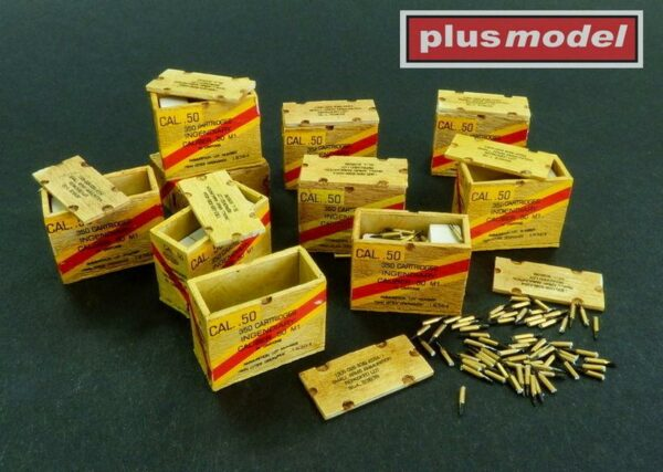 US ammunition boxes for cartridges in boxes