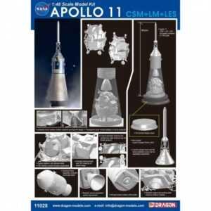 Apollo 11 CSM + LM + LES