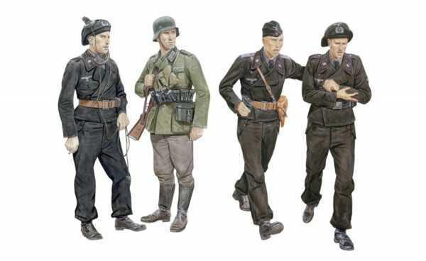 Ghost Division Tank Crew Blitzkrieg