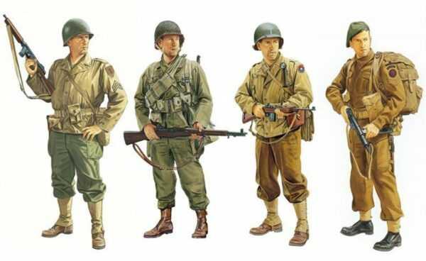 Allied Force Eto 1944