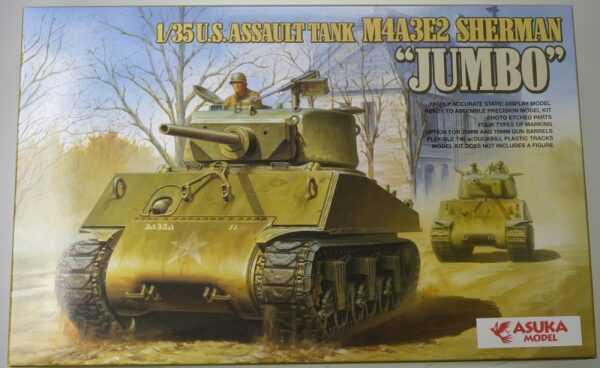 US M4A3E2 SHERMAN Jumbo