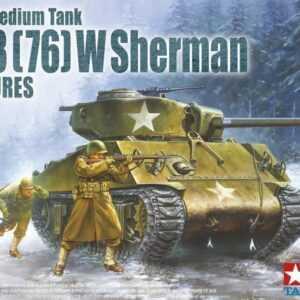 M4A3(76)W Sherman w/ Figures