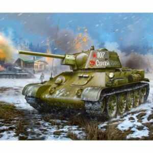 T-34/76 Mod.1942 Hexag. turret Sov.