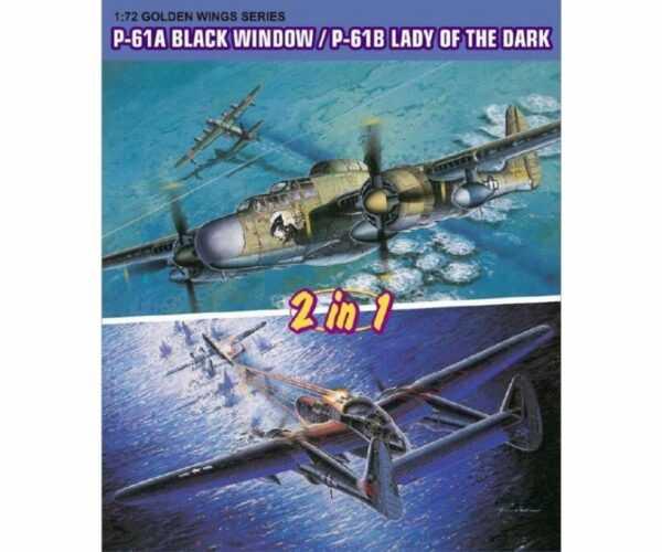 P-61A BlackWidow / P-61B Lady of Dark (2in1)