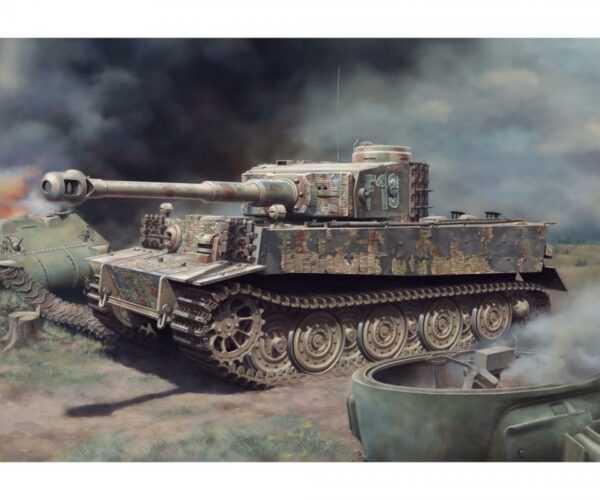 Sd.Kfz.181 Pz.Kpfw.VI Ausf.E Tiger I