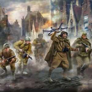 Soviet machine gun squad WWII