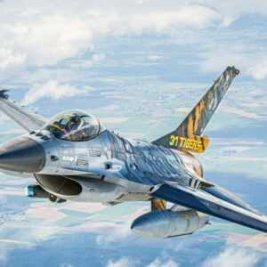 Model Set - F-16 Mlu 31 Sqn. Kleine Brogel