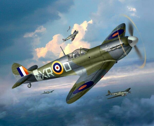 Model Set Spitfire Mk.II