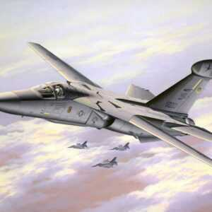 Model Set - EF-111A Raven