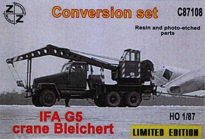 Conversion Set. IFA G5 Crane Bleichert