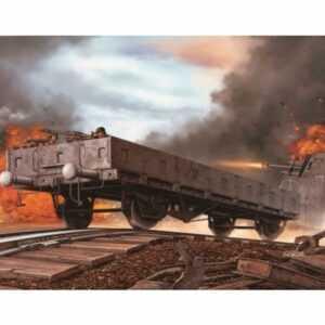 German Railway Flatbed Typ Ommr