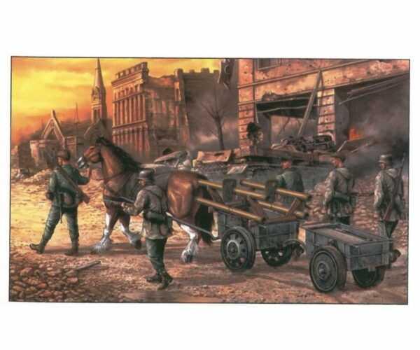 8.8 cm Panzerschreck Infanterkarren