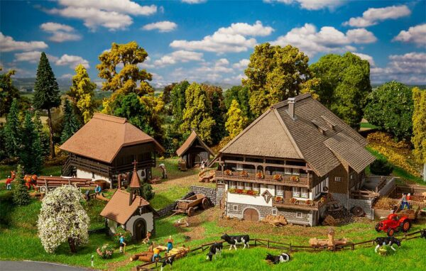 Schwarzwald-Set Vogtsbauernhof