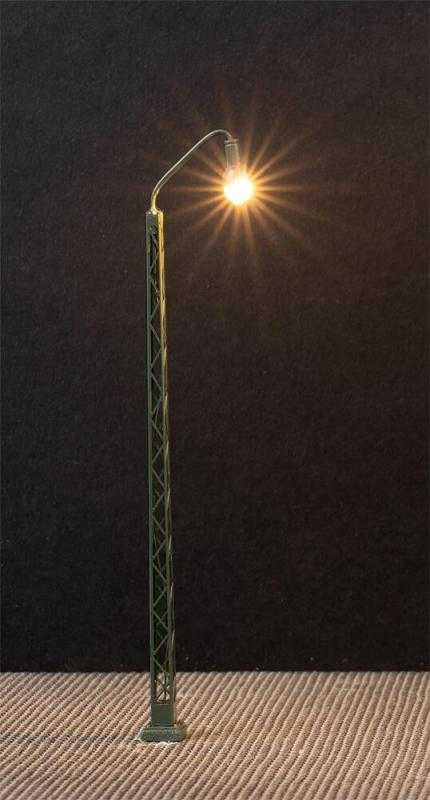LED-Gittermast-Bogenleuchte - 3 Stück