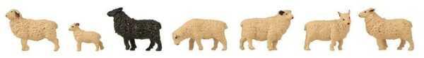 Schafe - Figuren-Set mit Mini-Sound-Effekt