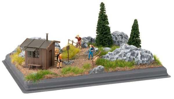 Mini-Diorama Gebirge