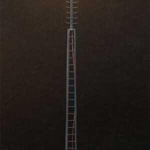 LED-Gittermast-Aufsatzleuchte - 3 Stück