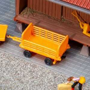 2 Bahnsteigwagen
