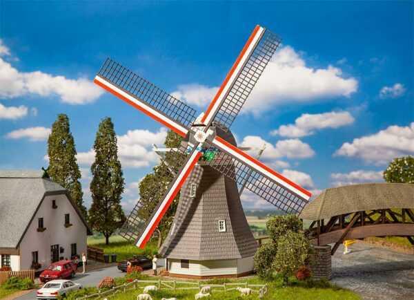 Kleine Windmühle - Monatsmodell März
