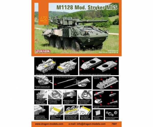 M1128 Mod. Stryker MGS