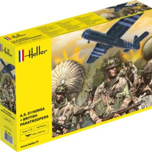 A.S. 51 Horsa + Paratroopers