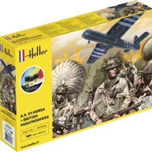 A.S. 51 Horsa+ Paratroopers - Starter Kit