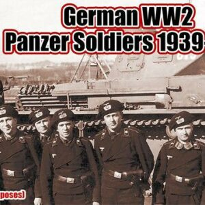 WWII German Panzer Soldiers