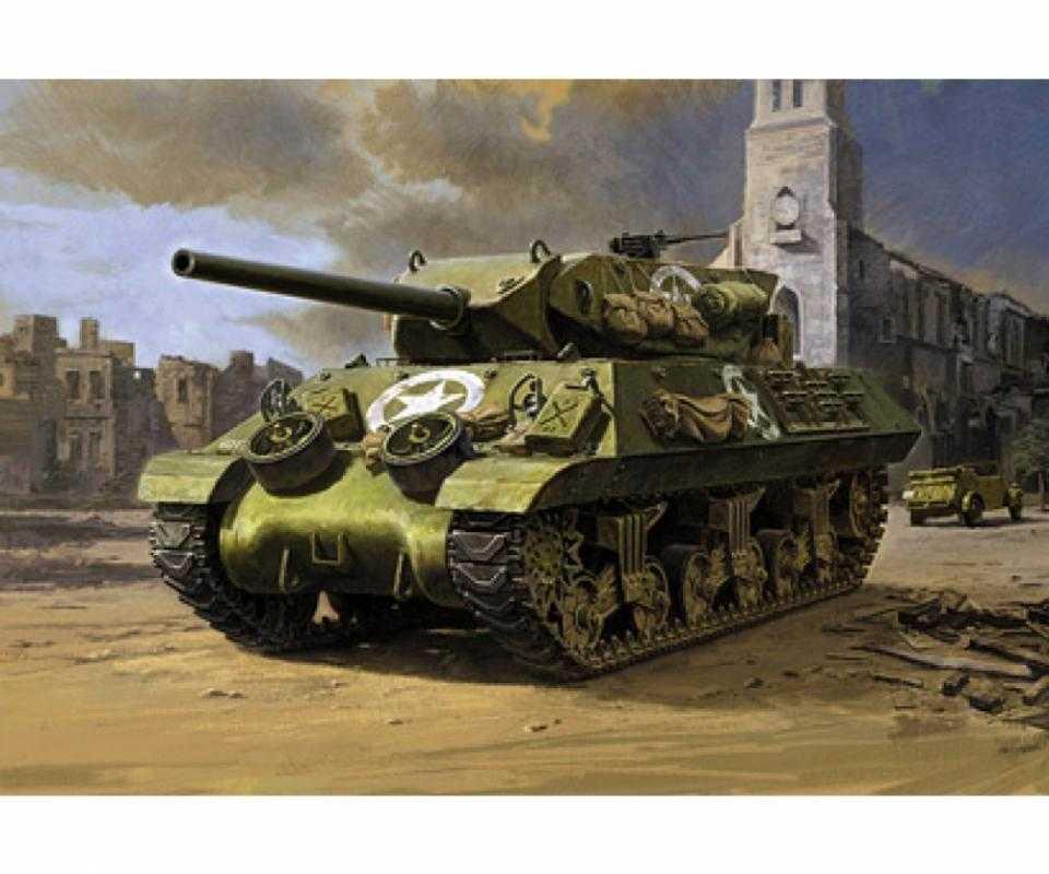 WWII US Jagdpanzer M10 Mittl.Prod.