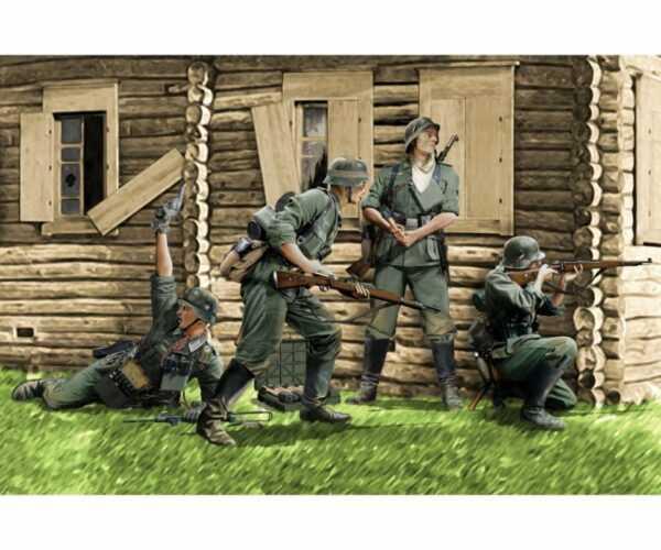 German Infantry Barbarossa 1941