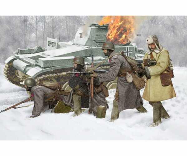 Soviet Infantry Winter 1941